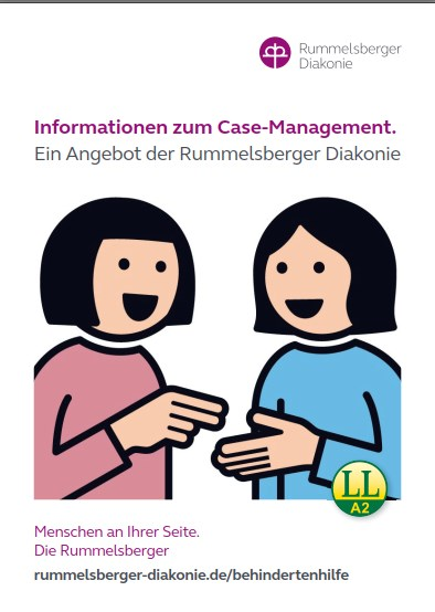 Information in leichter Spache über das Case-Management